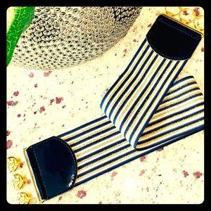💕Bebe Striped Belt!!